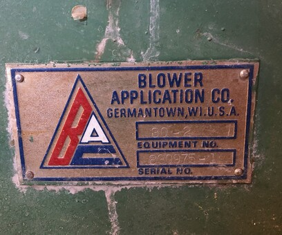 Blower Application Co Germantown Wi